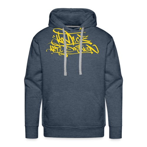 Konf.cz - Brown hoodie - Men's Premium Hoodie