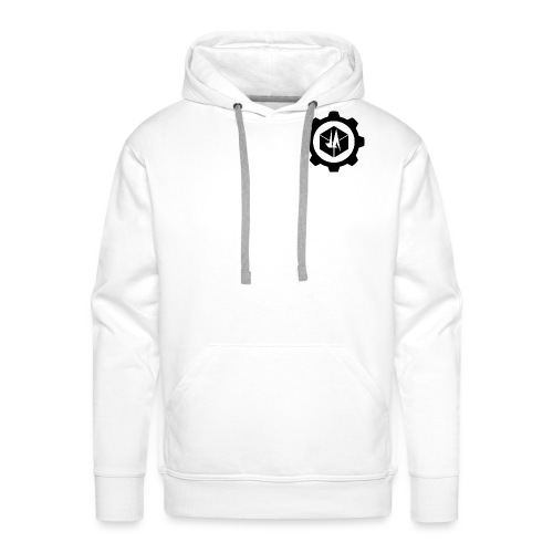 Jebus Adventures Logo (Transparent) - Men's Premium Hoodie