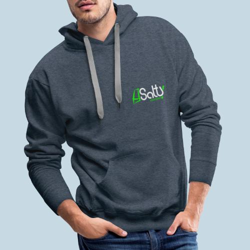 Logo Salty Windsurfen - Männer Premium Hoodie