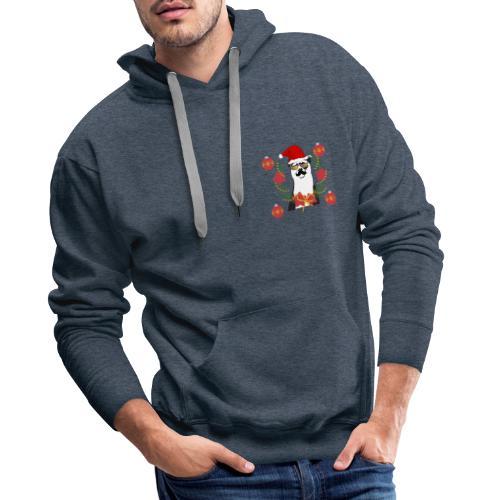 Ours de noël - Sweat-shirt à capuche Premium pour hommes