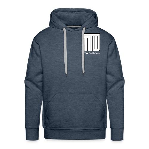 mtw logo weisser text spreadshirt - Männer Premium Hoodie