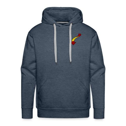 Flecha españa - Sudadera con capucha premium para hombre