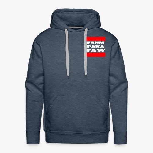 fanm paka taw - Sweat-shirt à capuche Premium pour hommes