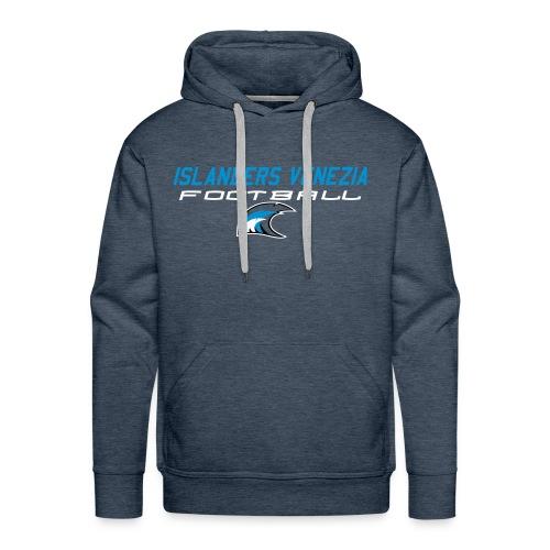 islanders football new logo - Felpa con cappuccio premium da uomo