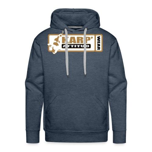 logo coeur - Sweat-shirt à capuche Premium pour hommes