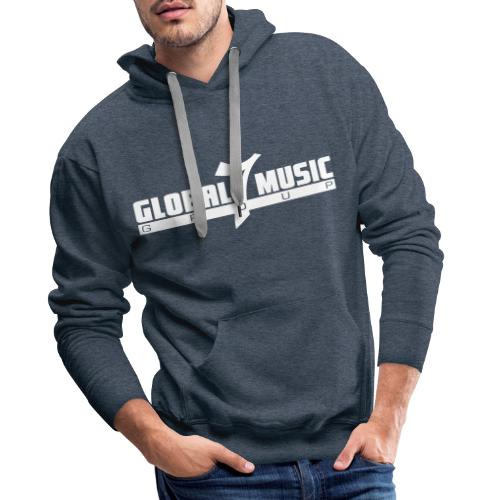Global 7 Music Group Logo - Männer Premium Hoodie