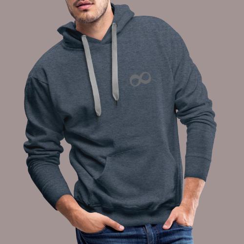 L'infini - Sweat-shirt à capuche Premium pour hommes