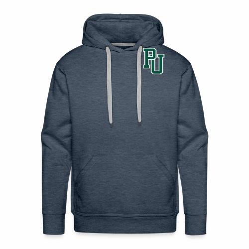PU initialen - Mannen Premium hoodie