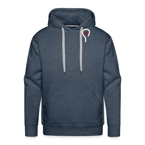 Padel&Wine - Sweat-shirt à capuche Premium pour hommes