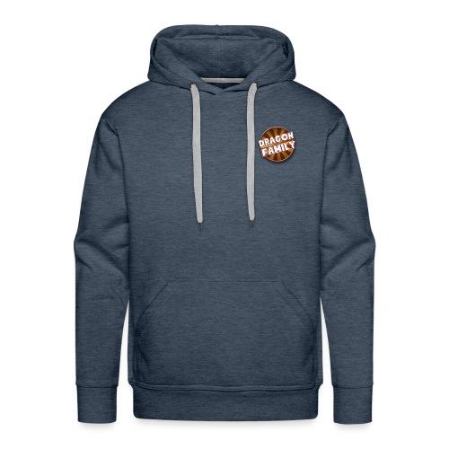logo DF - Sweat-shirt à capuche Premium pour hommes