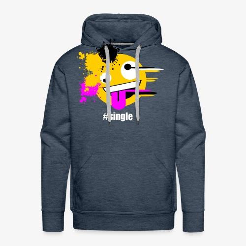 Emoji Art #single - Männer Premium Hoodie