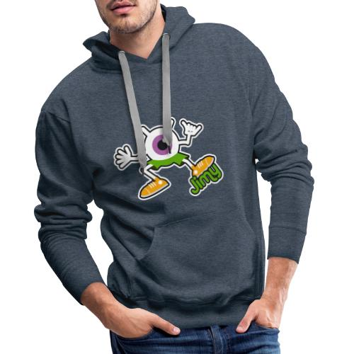 Jimy Full (Color) - Sweat-shirt à capuche Premium pour hommes