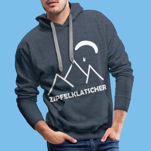 gleitschirmflieger paragliding geschenk T-shirt - Männer Premium Hoodie