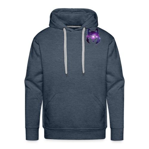 Galaxy wolf - Sweat-shirt à capuche Premium pour hommes