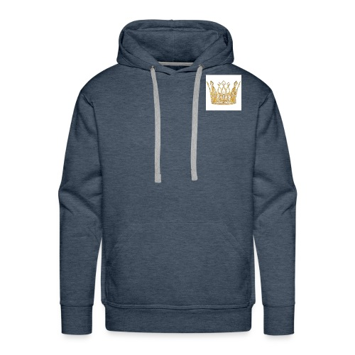 kingsammytvs crown - Men's Premium Hoodie