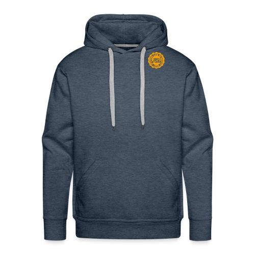 logo scn orange - Sweat-shirt à capuche Premium pour hommes