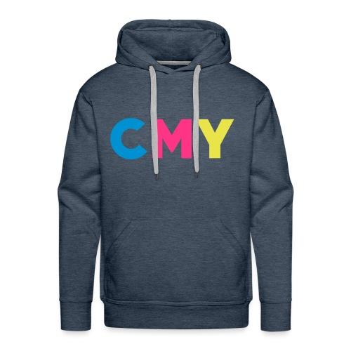 CMYK - Mannen Premium hoodie