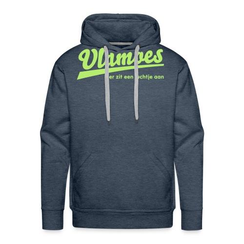 vlamoes kut lucht - Mannen Premium hoodie