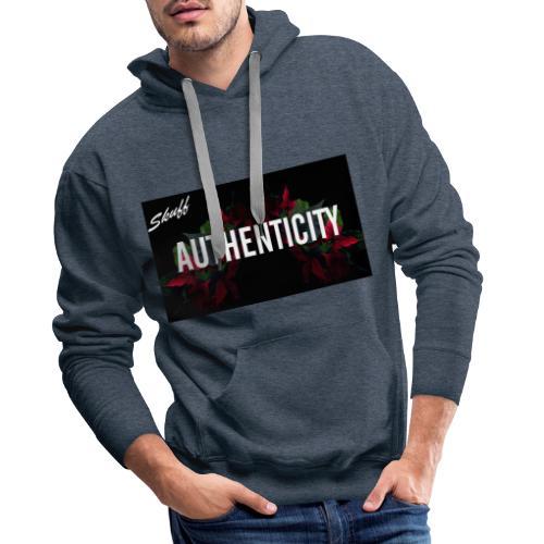 Authenticity - Sweat-shirt à capuche Premium pour hommes