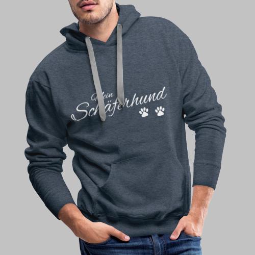 Mein Schäferhund - T-Shirt - Hoodie - Pullover - Männer Premium Hoodie