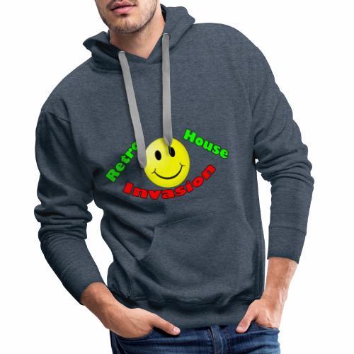 Retro House Invasion - Mannen Premium hoodie