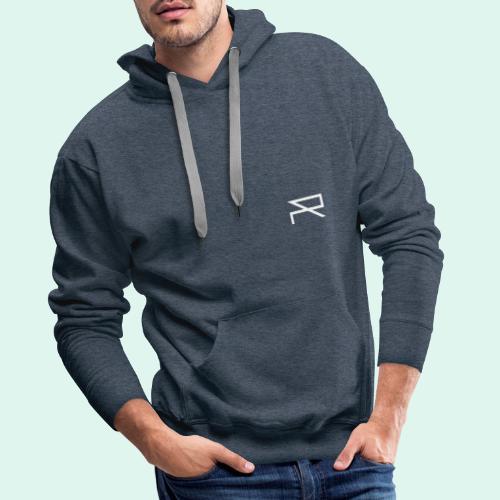 R A B A L E. decide / logo blanc. - Sweat-shirt à capuche Premium pour hommes