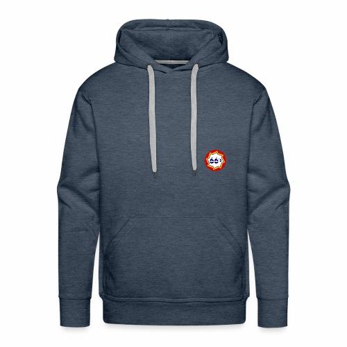 Solo Logo - Sudadera con capucha premium para hombre