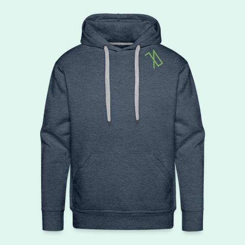 R A B A L E. decide / logo écolo. - Sweat-shirt à capuche Premium pour hommes