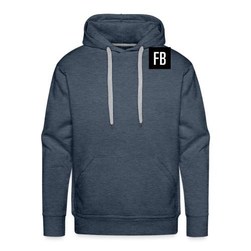 FB logo - Men's Premium Hoodie