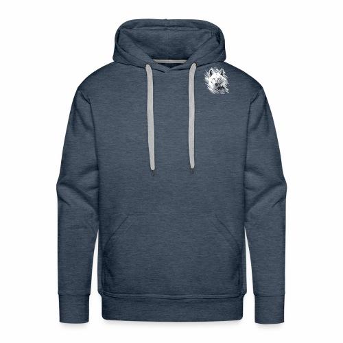 Wolf-logo_full - Sweat-shirt à capuche Premium pour hommes