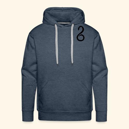 Slytherin Crest Logo - Men's Premium Hoodie