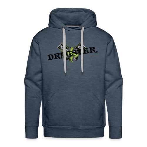 DRAGSTER WEAR - Felpa con cappuccio premium da uomo