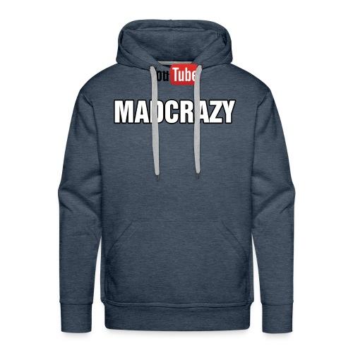 madcrazy yt - Felpa con cappuccio premium da uomo