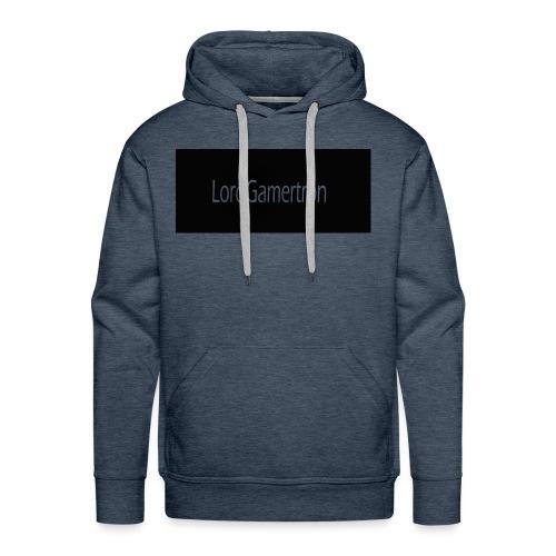 Lord Gamertron Turquoise Hoodie - Men's Premium Hoodie