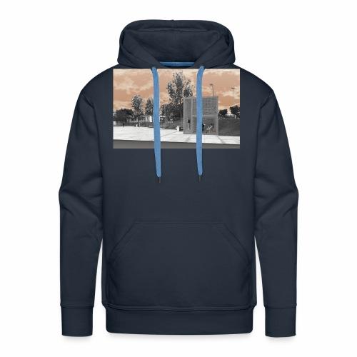 Arquitectura cambiada de lugar - Sudadera con capucha premium para hombre
