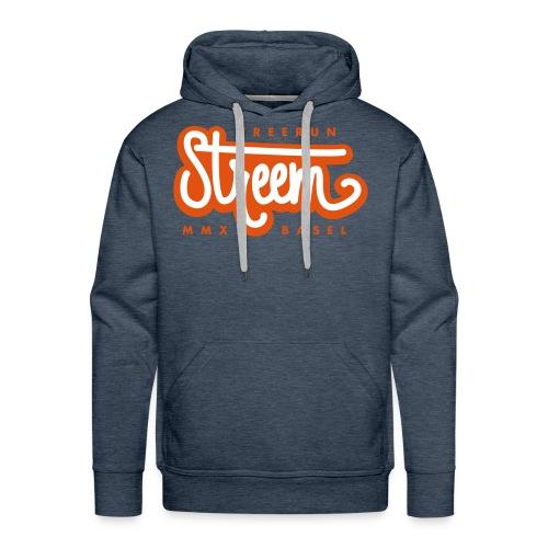 StreemFreerun Classic Logo - Männer Premium Hoodie
