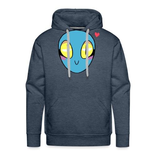 Evetty Alien - Sudadera con capucha premium para hombre
