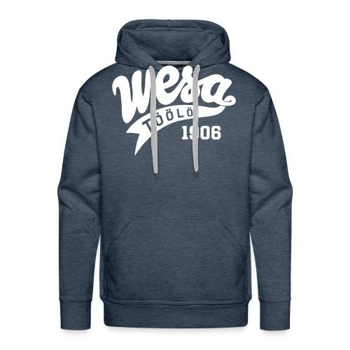 wesa retro - Miesten premium-huppari