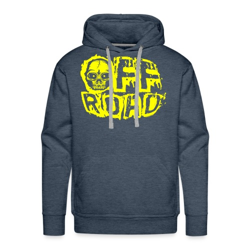 11A-12 OFF ROAD SKULL Textiles and gift products - Miesten premium-huppari