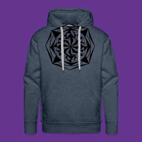 Geometrie Mandala Muster - Männer Premium Hoodie
