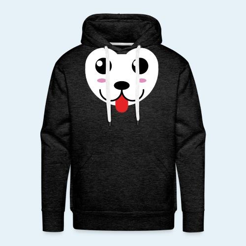 Husky perro bebé (baby husky dog) - Sudadera con capucha premium para hombre