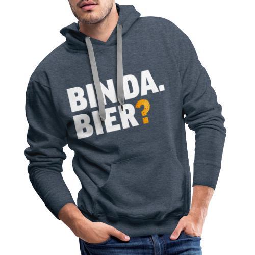 Lustig Bier Party Saufen Alkohol Geschenk - Männer Premium Hoodie