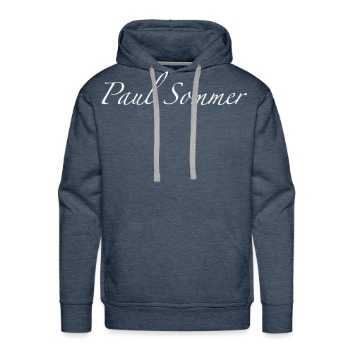 Paul Sommer Marineblau - Männer Premium Hoodie