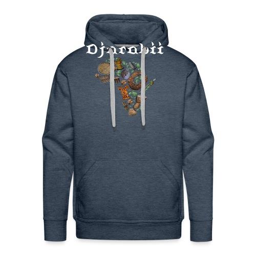 Djarabii afrique - Sweat-shirt à capuche Premium pour hommes