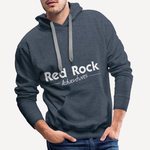 RRA Logo weiss - Männer Premium Hoodie