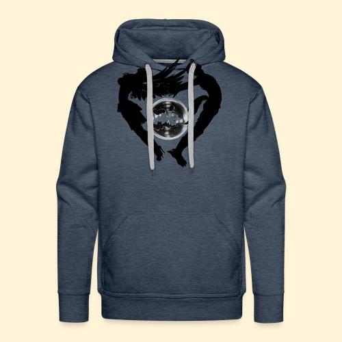 Elyo y asmodian - Sudadera con capucha premium para hombre