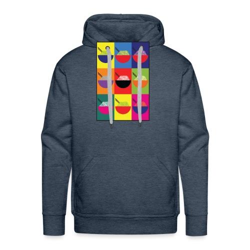 Pop Pho Art - Sweat-shirt à capuche Premium pour hommes
