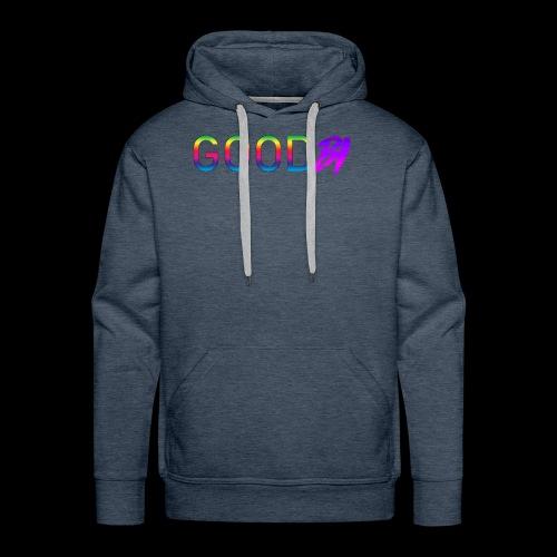 GoodBi - Sweat-shirt à capuche Premium pour hommes