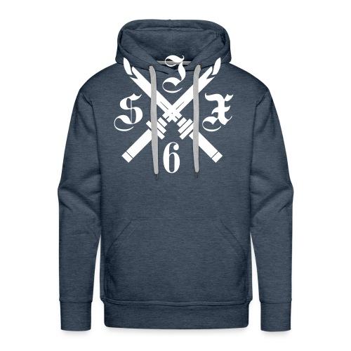 SIX6 CROSS SPADE - Sweat-shirt à capuche Premium pour hommes