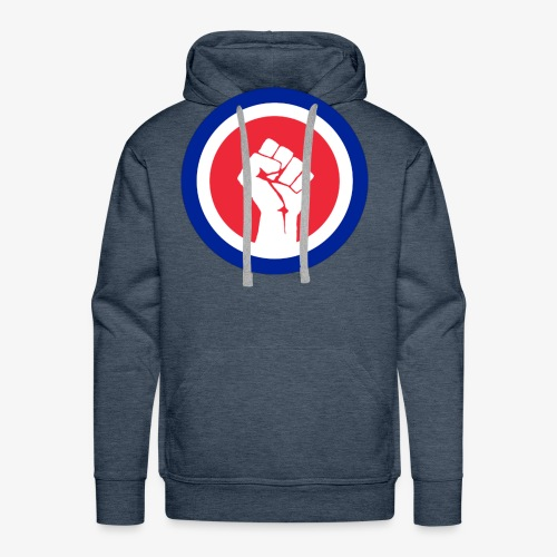 Premier logo de la LAE en grand - Sweat-shirt à capuche Premium pour hommes